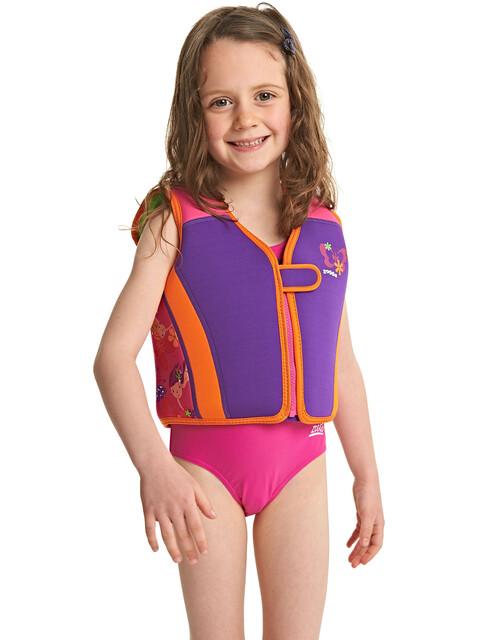 Zoggs Mermaid Flower - Enfant - rose/violet